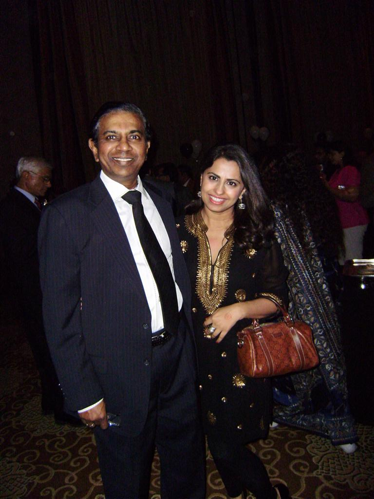 living our dreams of philanthropy david raj with ruchi mukherjee India House Gala & TUTS Dream Out Loud