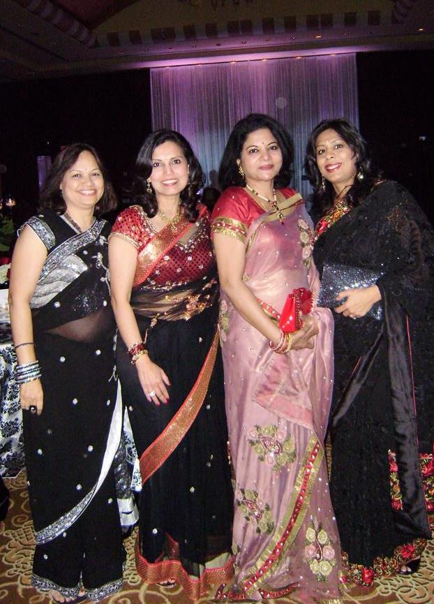 living our dreams of philanthropy raj malani savita rao guest leena shah India House Gala & TUTS Dream Out Loud