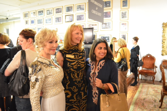 joanne king herring susan krohn and ruchi mukerjee New Beginings with New Orleans Auction House Launch Party