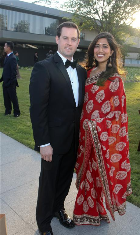 chris and divya brown photo by gf Tiger Ball Draws Large Audience Raising $1.4 Million