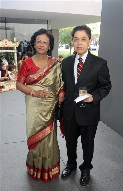 dr ninan mathew and mrs sushila mathew photo by gf Tiger Ball Draws Large Audience Raising $1.4 Million