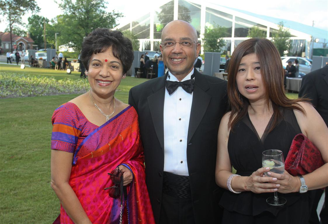 marie vijay goradia and rose chan photo by gf Tiger Ball Draws Large Audience Raising $1.4 Million
