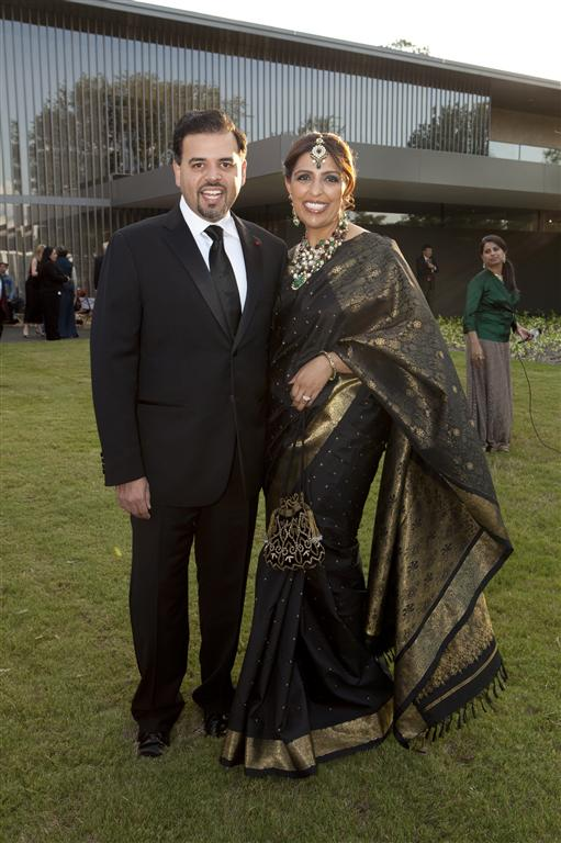 nidhika and pershant mehta photo by ja jenny antill Tiger Ball Draws Large Audience Raising $1.4 Million