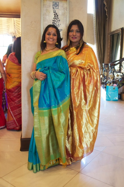 sandhya ayyar and shanthi rubin The Banyan Brunch to Welcome Legendary Indian Cinema Actress Vyjayanthimala Bali