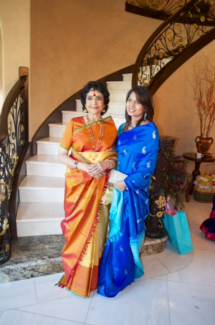 vyjayanthimala bali and aparna rao The Banyan Brunch to Welcome Legendary Indian Cinema Actress Vyjayanthimala Bali