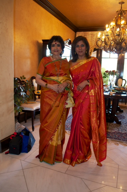 vyjayanthimala bali and latika samtani bathija The Banyan Brunch to Welcome Legendary Indian Cinema Actress Vyjayanthimala Bali