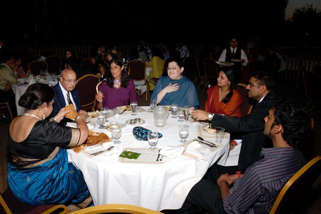 Dinner with Sunita Williams