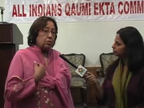 In Conversation with Najma Heptulla