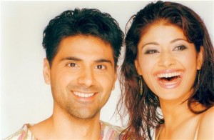 pooja batra with husband Sonu Ahluwalia