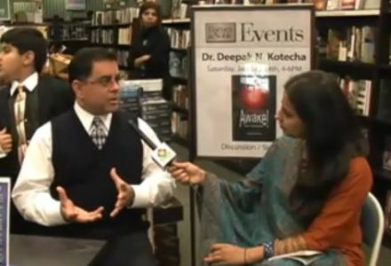 Book Signing By Dr. Kotecha