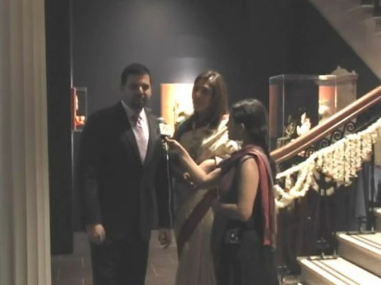 Nidhika and Pershant Mehta Arts of India Gallery Opening in Houston
