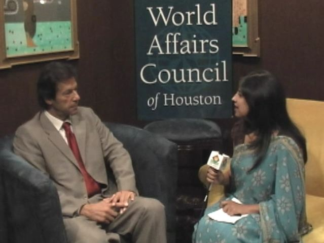 Imran Khan in Houston to discuss Pakistan's future