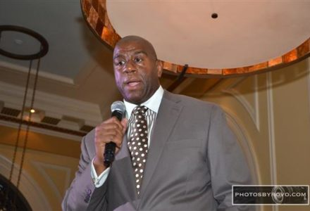 Winfield Gate Launch and A Magic Johnson Evening