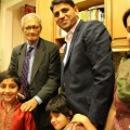 Singhal Family with Amartya Sen