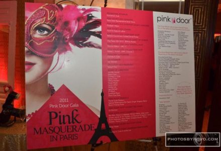 Pink Door Gala – Pink Masquerade In Paris