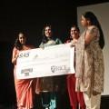 Vinita (Rice SAS), Abhilasha (Outreach coordinator Daya), Punya (Rice SAS) & Padmini (Daya Board)