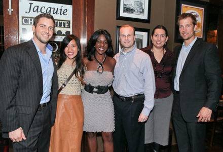 Young Professionals Mix and Mingle