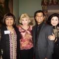 Minira P Zahid, Joanne King Herring, Munir Ibrahim and Shenila H Naseem