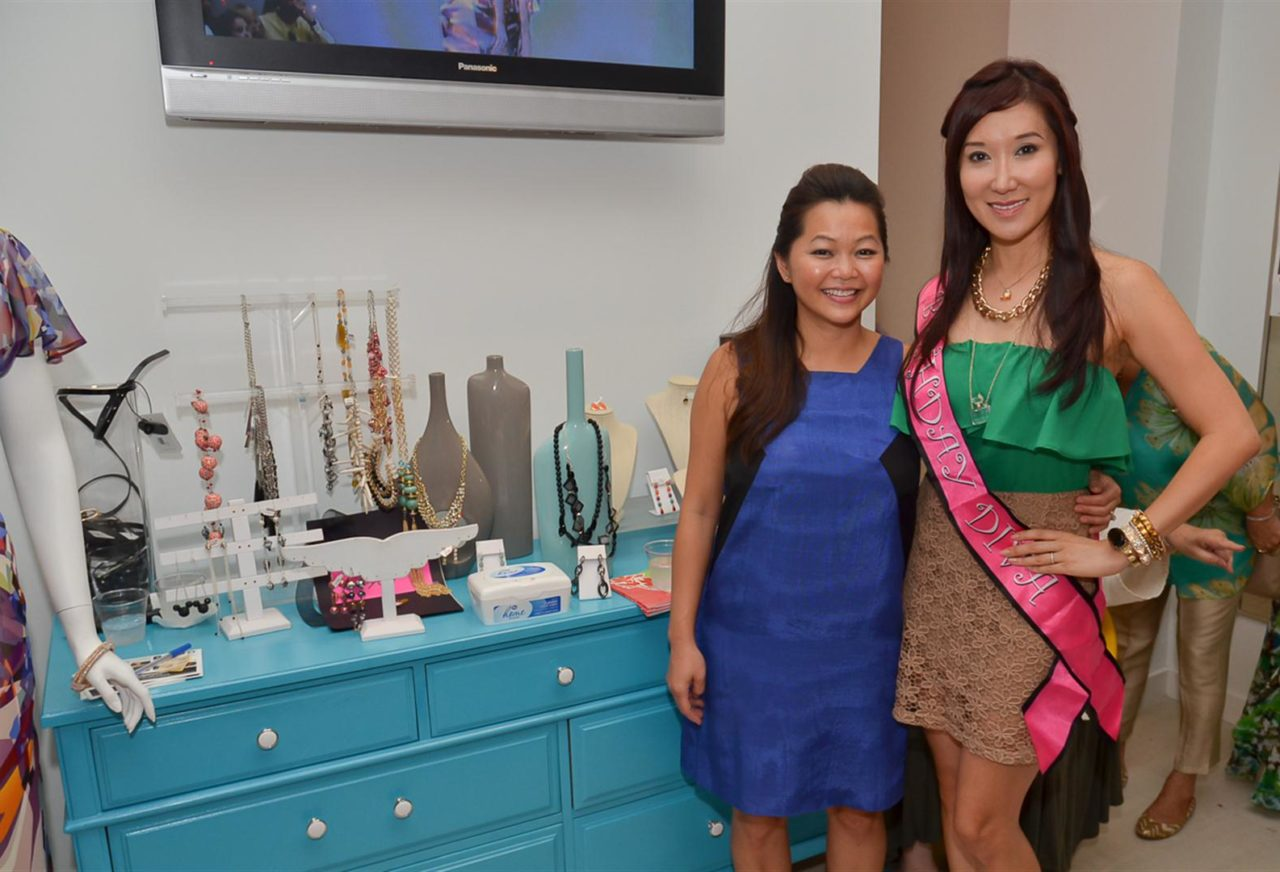 Shop Till You Drop! LCA Spots the Best Dressed at the Mandy Kao Birthday/Fundraiser Bash!