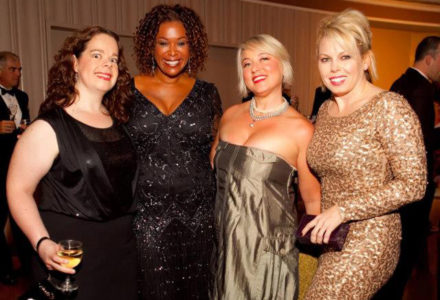 Glitz, Glamor and Hope – Omega Bering Sing For Hope Steals the Show