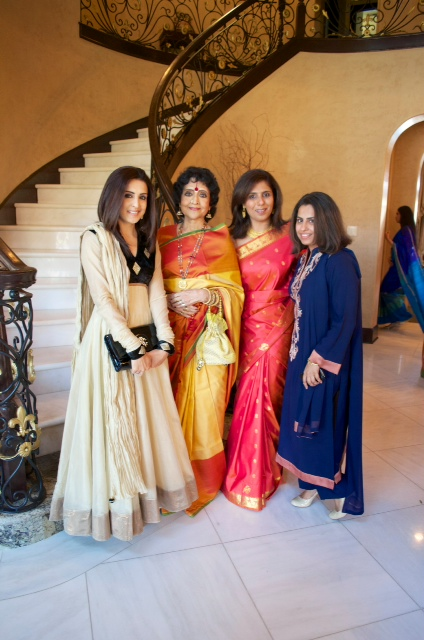 Sneha Merchant Vyjayanthimala Bali Latika Bathija and Ruchi Mukherjee  The Banyan Brunch to Welcome Legendary Indian Cinema Actress Vyjayanthimala Bali
