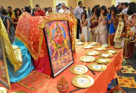 Indian Festivity in Full Swing