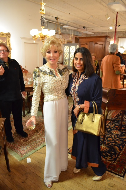 Joanne King Herring and Ruchi Mukerjee New Beginings with New Orleans Auction House Launch Party