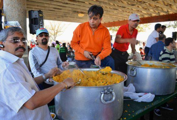 Houston Kite Festival - Khichdi