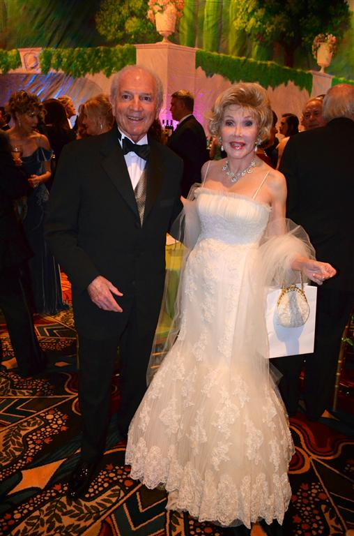 Extravagant Ball Gowns And Runway Of Philanthropic Ladies