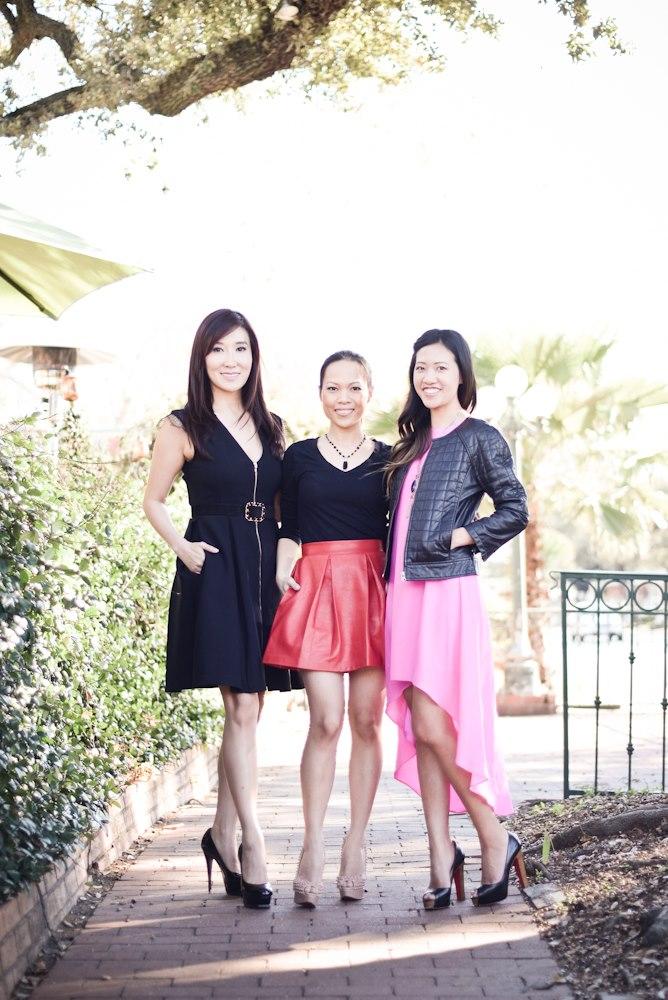 Mandy Kao, Khanh Nguyen, Melissa Chou Yan