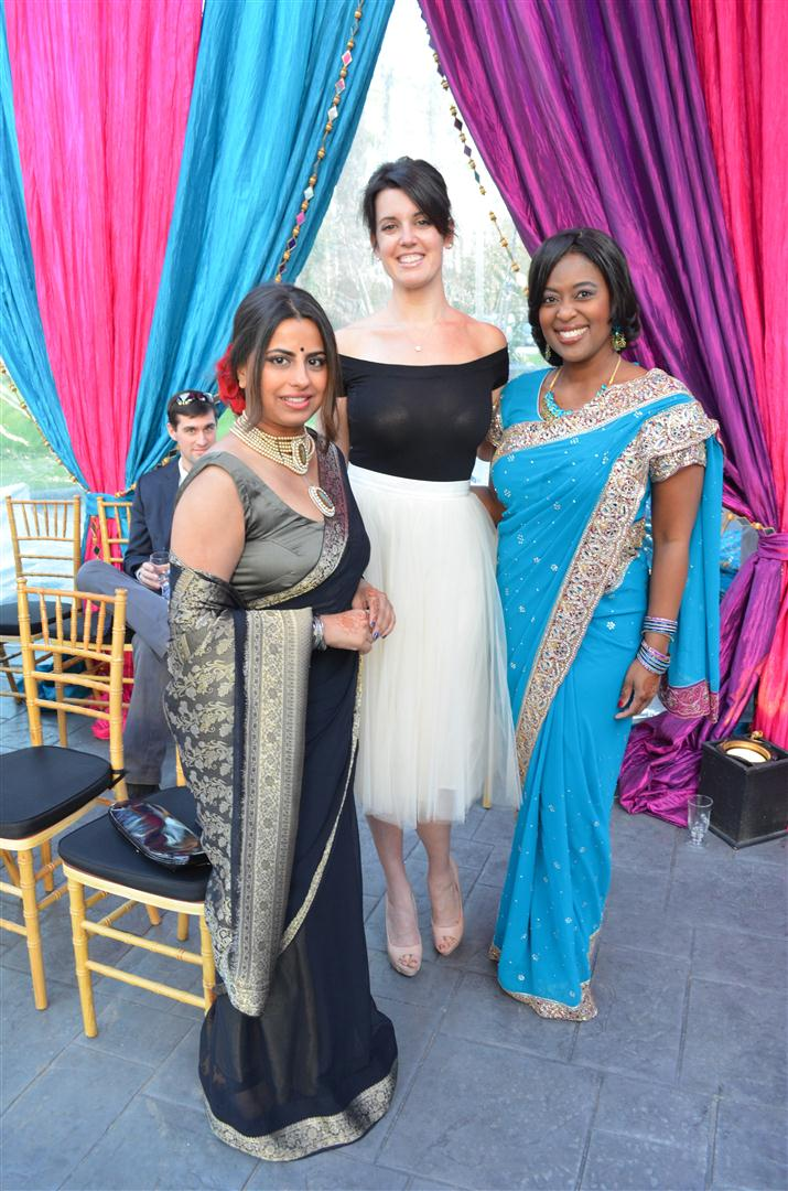 Ruchi Mukherjee, Laura Ellington, Sharron Melton
