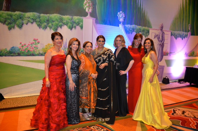 Extravagant Ball Gowns and Runway of Philanthropic Ladies – All at the Women of Distinction Winter Ball