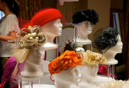 Hats Fascinators and Book Signing