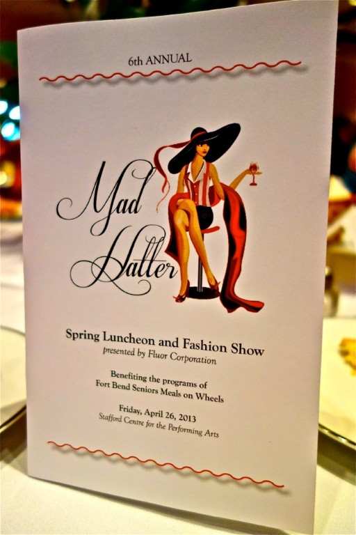 6th Annual Spring Luncheon and Fashion Show 1 Mad Hatter Tea Party