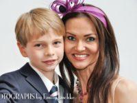 Gabriela Dror with her son David