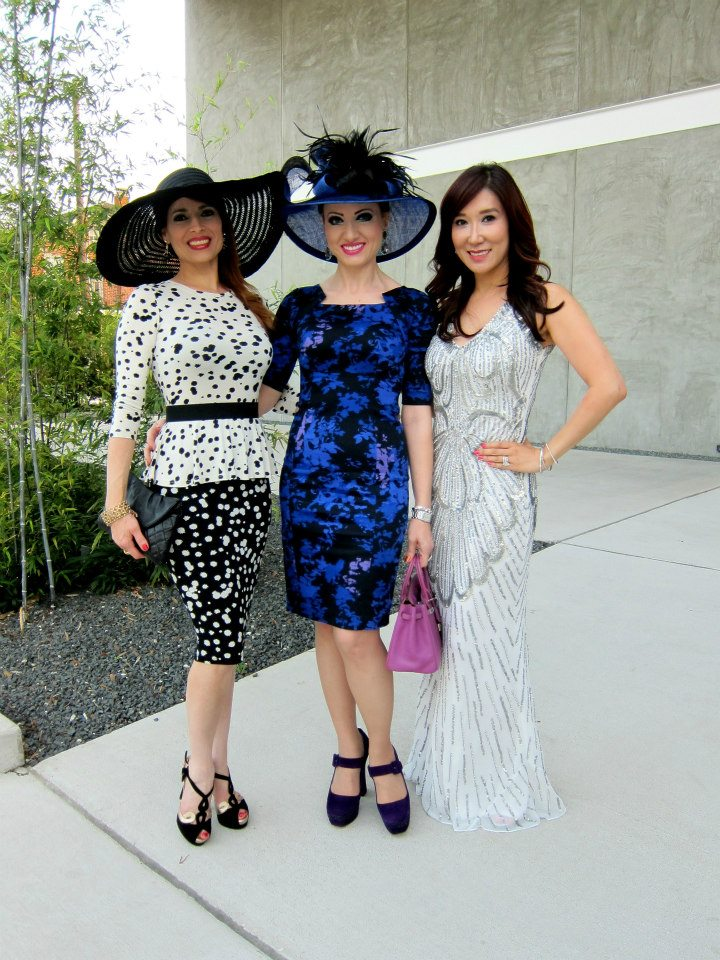 Karina Barbieri, Yasmine Hadad and Mandy Kao