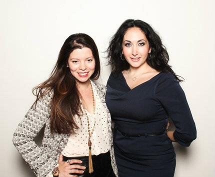 Nadia and Gabriella