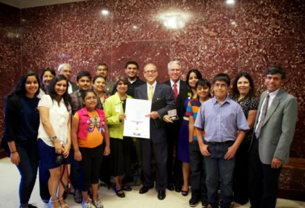 Sewa International Houston honored at City Hall