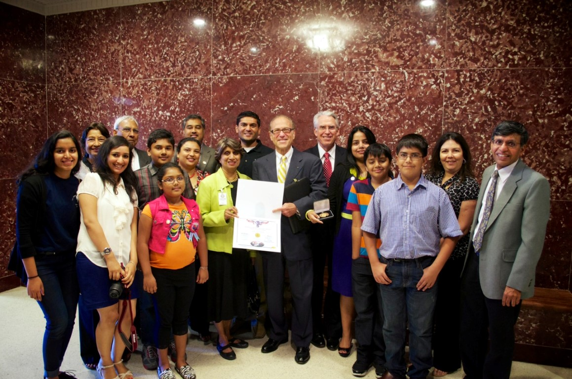 Sewa International Houston honored at City Hall