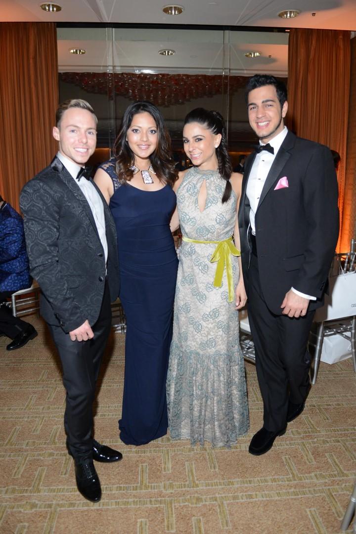 Travis Player, Rekha Muddaraj, Shadi Abedin and Roi Alan