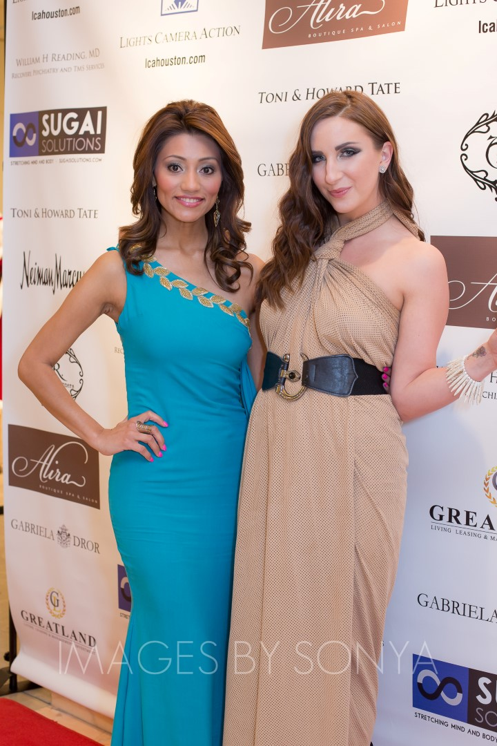 Rita Garcia wearing Demartini Fashion By Breccia Aurora Demartini