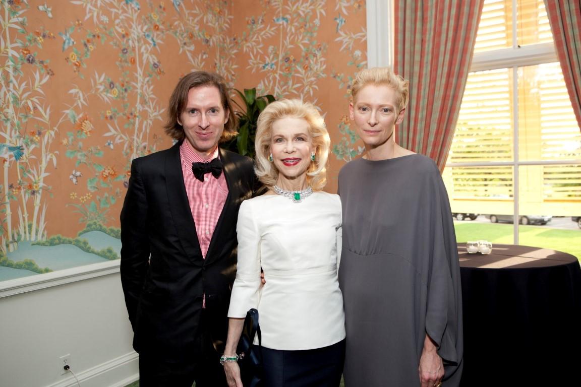 A Star Studded Rothko Chapel Visionary Awards Gala with Tilda Swinton, Lynn Wyatt and Wes Anderson