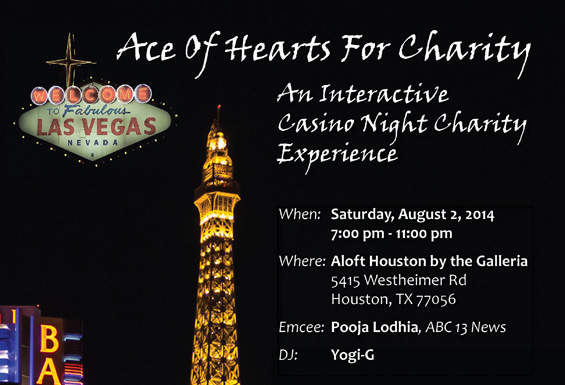 Ace of Hearts For Charity