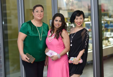 Vivian Yeh, Ruchi Mukherjee and Connie Kwan Wong