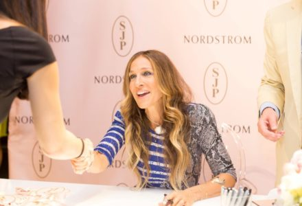 Shoes Galore with Sarah Jessica Parker as she unveils her SJP Collection in Houston