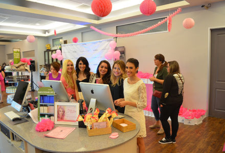 Pretty In Pink At Josephine's Day Spa and Salon