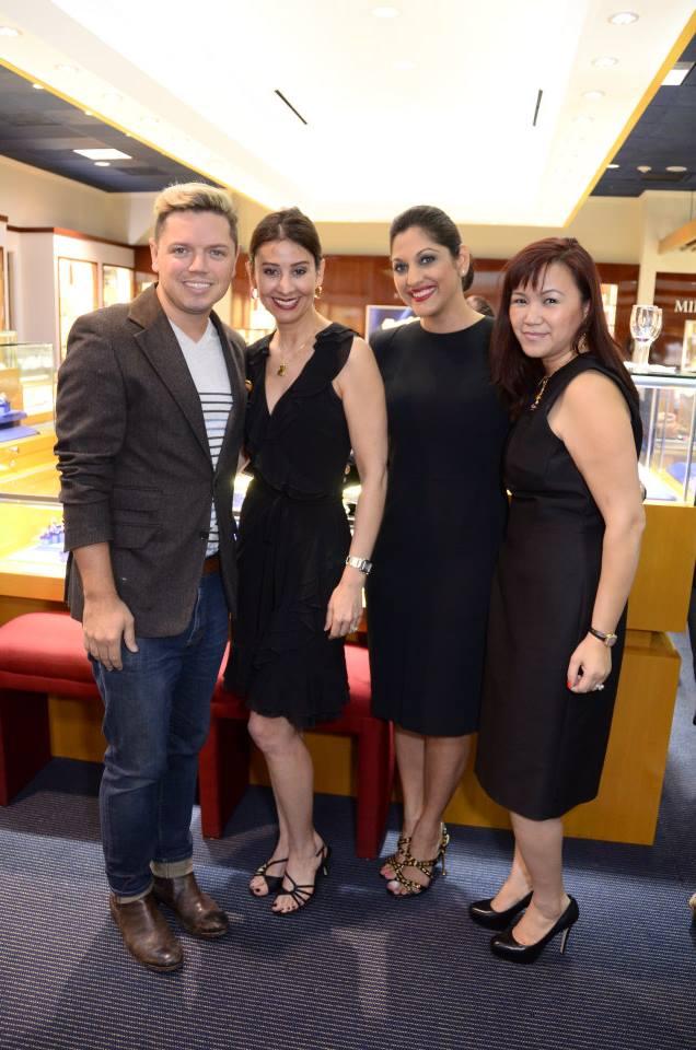 David Peck, Perri Kay Palermo, Sippi Khurana and Tammy Tran Nguyen