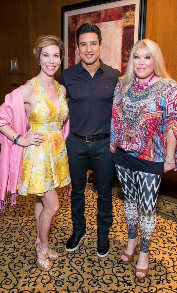 Roseann Rogers, Mario Lopez and Lara Bell