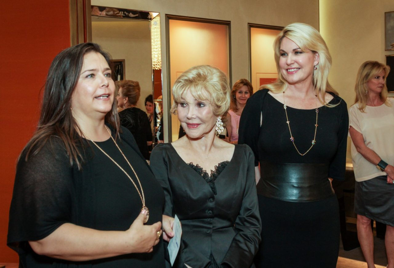 """Joanne King Herring Honored with """"Lifetime Achievement Award"""" by BVLGARI for Work with Mission of Yahweh"""