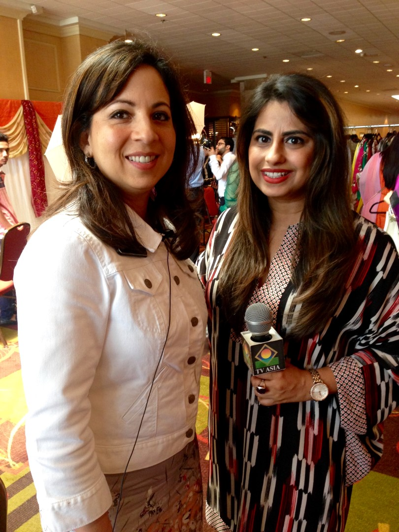 Annette Rodriguez, President & CEO The Childrens Shelter with Ruchi Mukherjee